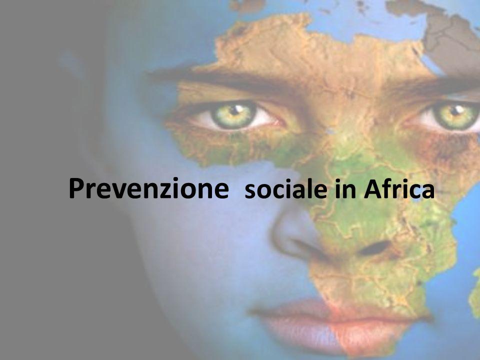 Prevenzione sociale in Africa