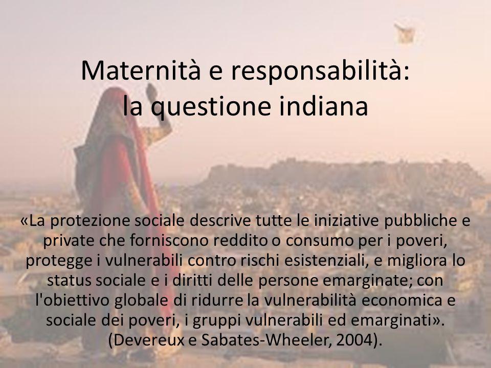Maternità e responsabilità: la questione indiana