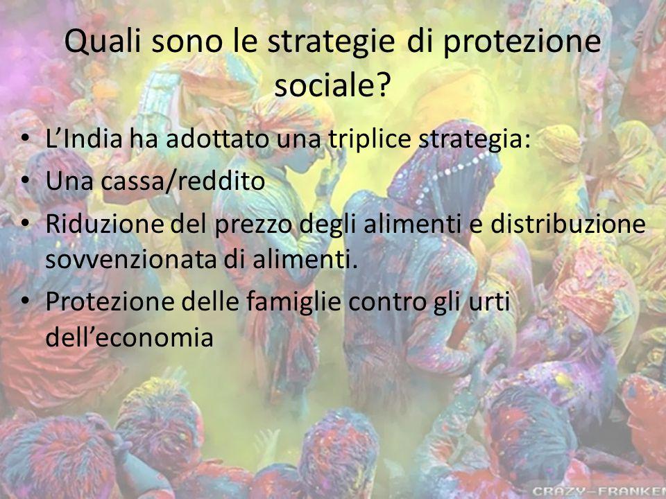 Quali sono le strategie di protezione sociale