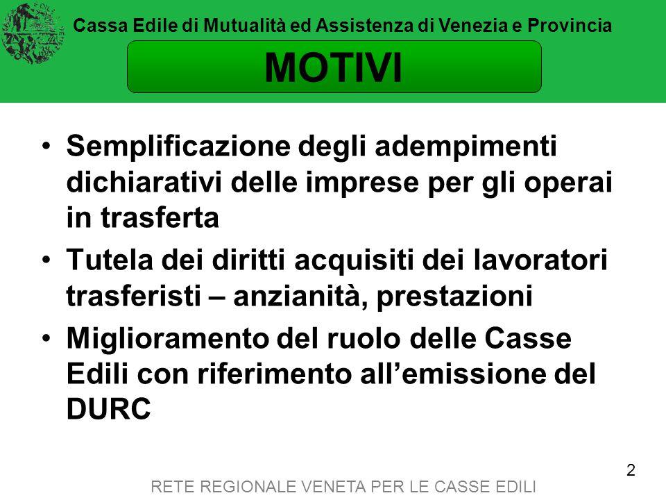 Cassa Edile di Mutualità ed Assistenza di Venezia e Provincia