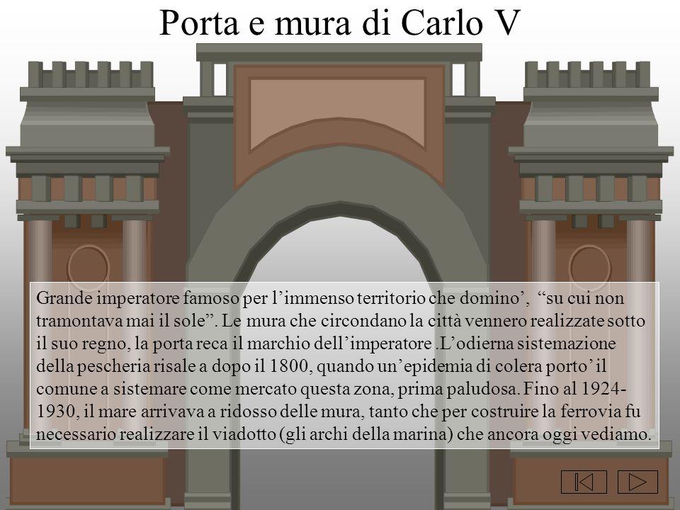 Porta e mura di Carlo V