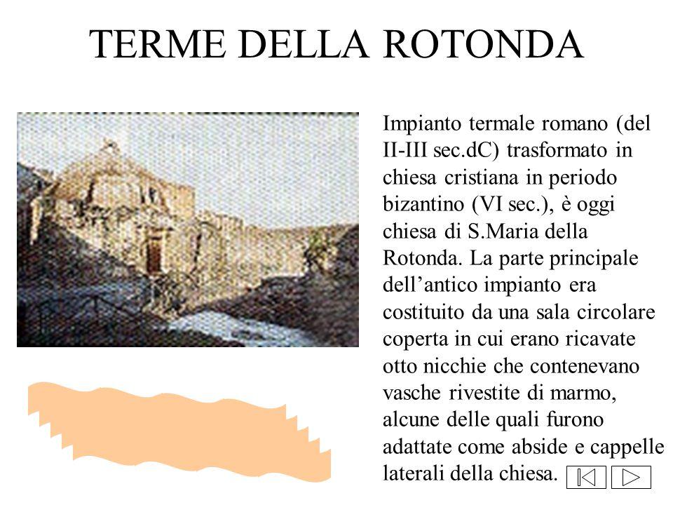 TERME DELLA ROTONDA