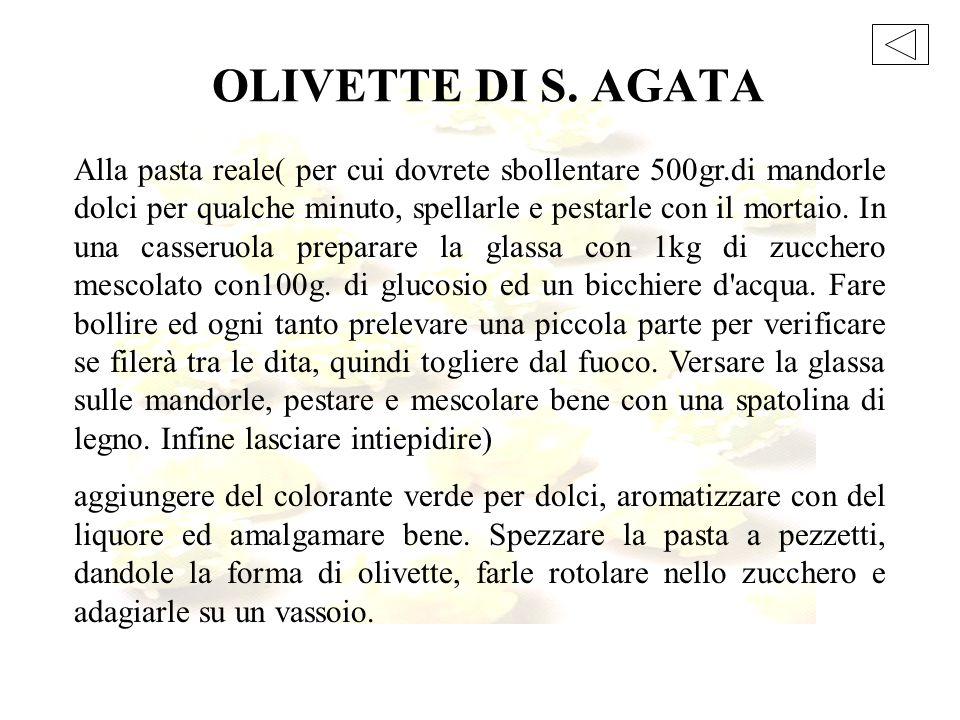 OLIVETTE DI S. AGATA