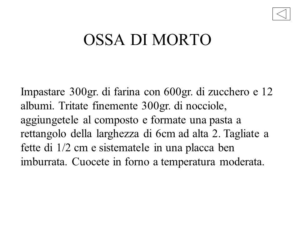 OSSA DI MORTO