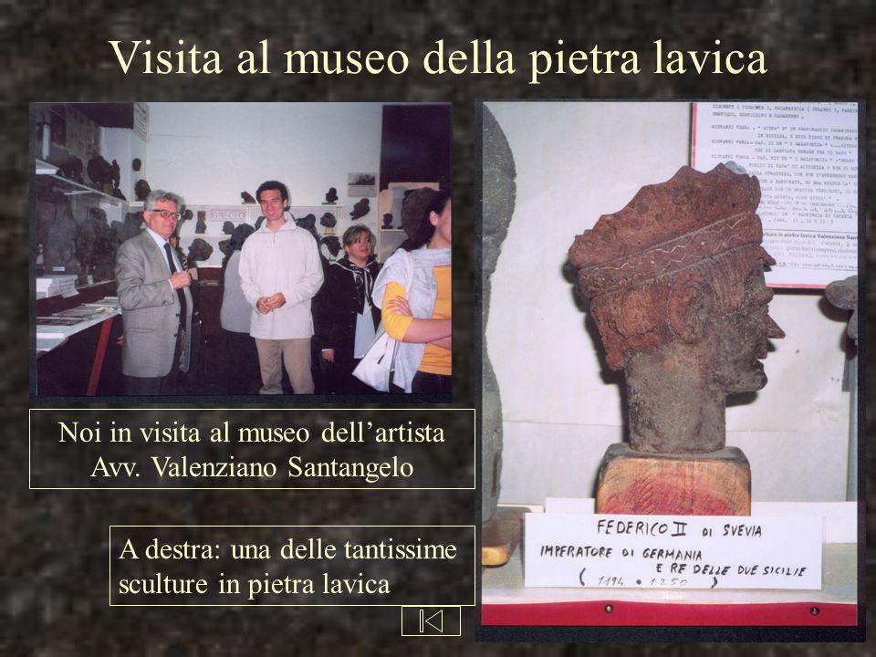Visita al museo della pietra lavica