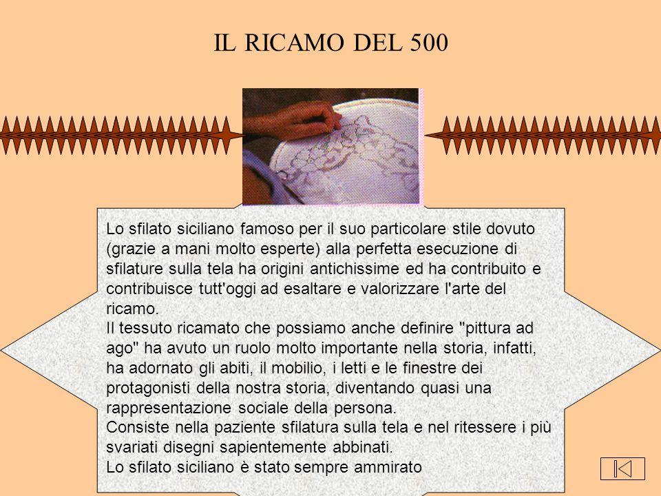 IL RICAMO DEL 500