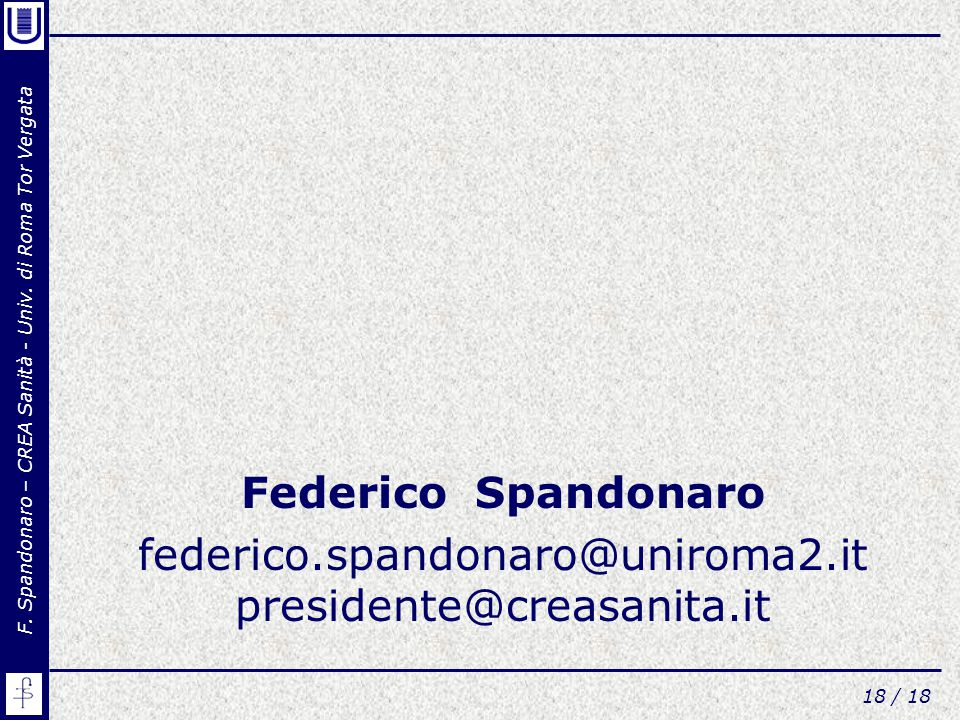 federico.spandonaro@uniroma2.it presidente@creasanita.it