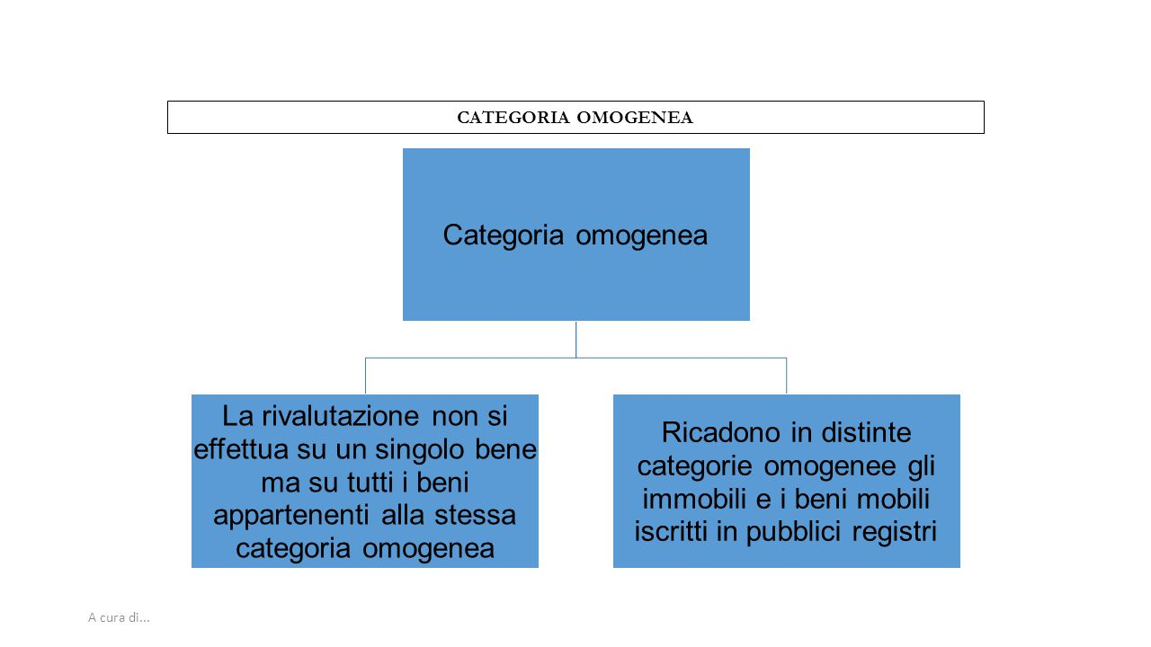 CATEGORIA OMOGENEA A cura di... 27 Categoria omogenea