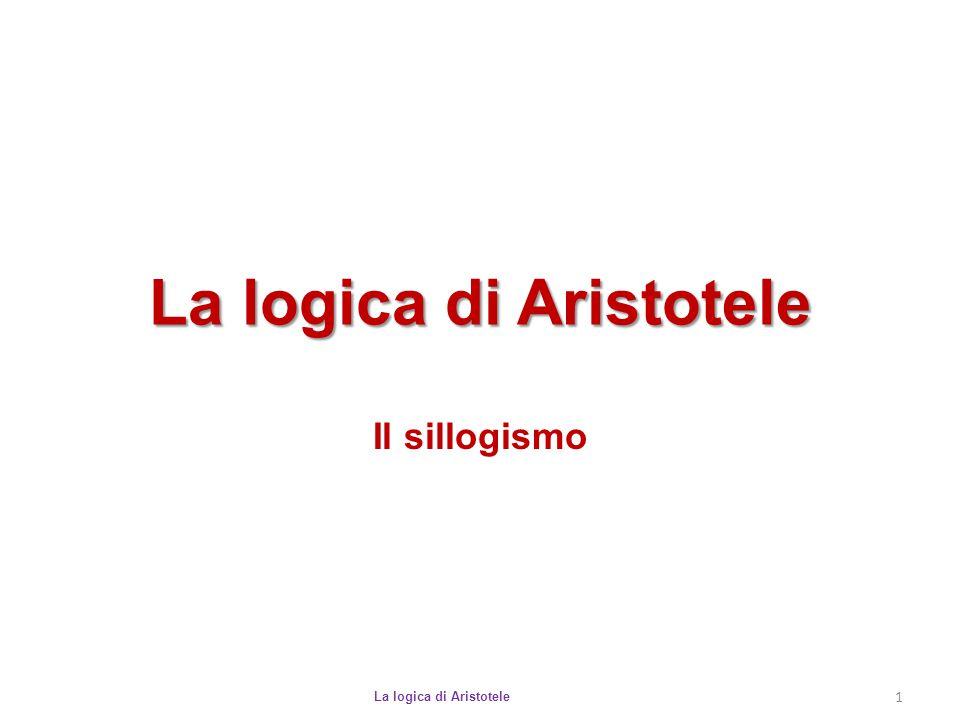 La logica di Aristotele