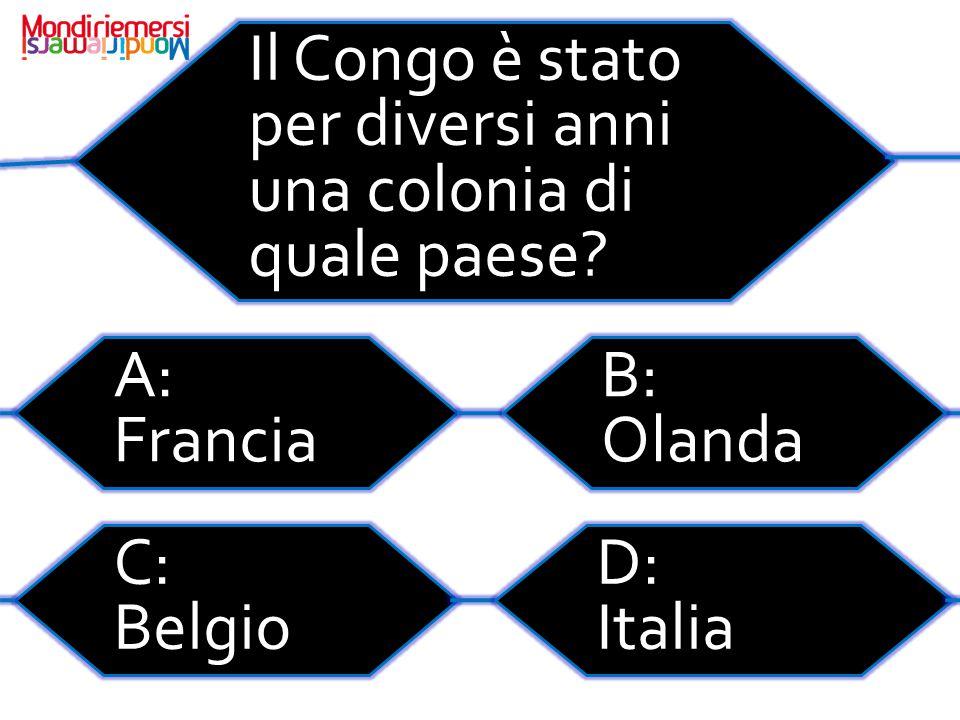 Il Congo è stato per diversi anni una colonia di quale paese