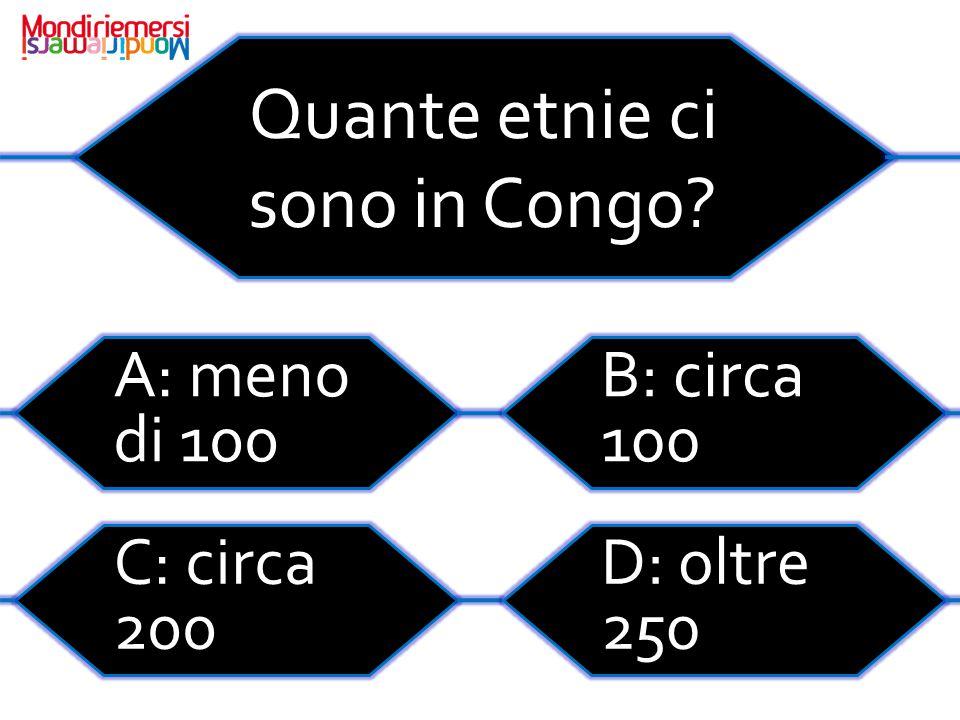 Quante etnie ci sono in Congo