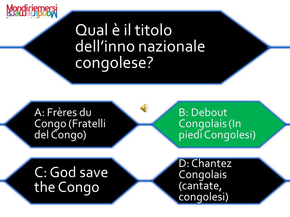 Qual è il titolo dell'inno nazionale congolese