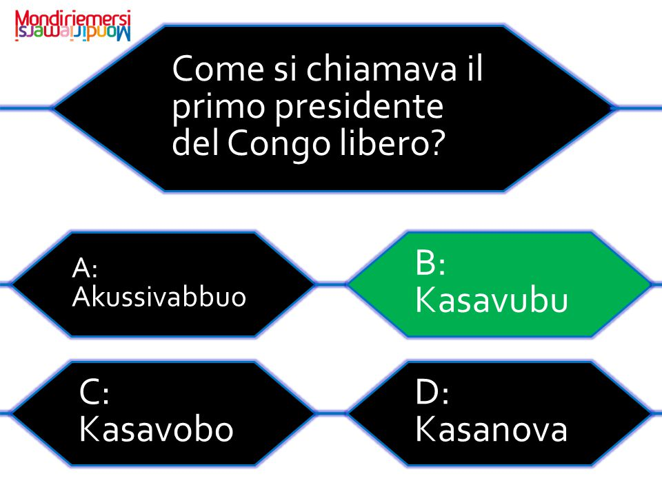 Come si chiamava il primo presidente del Congo libero