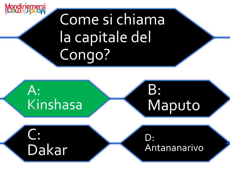 Come si chiama la capitale del Congo