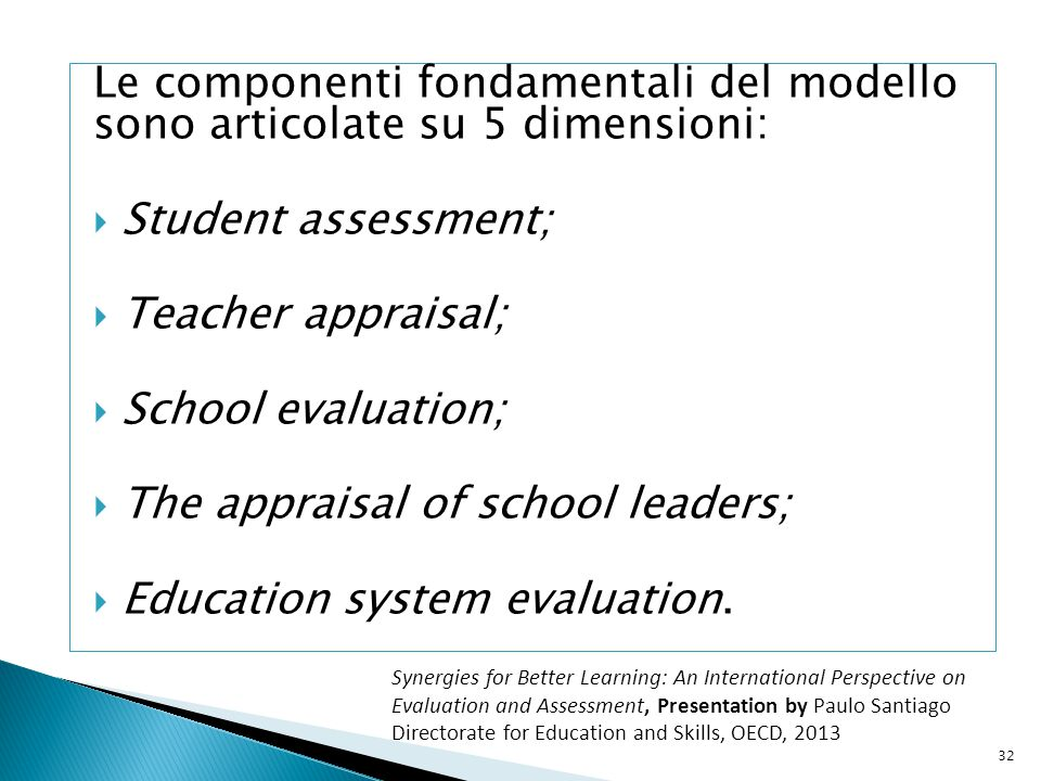 The appraisal of school leaders; Education system evaluation.