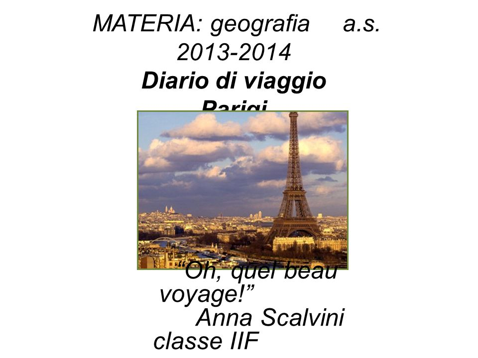 Anna Scalvini classe IIF