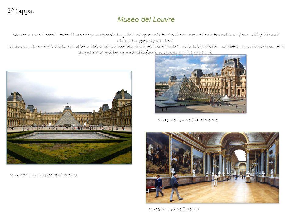 2^ tappa: Museo del Louvre