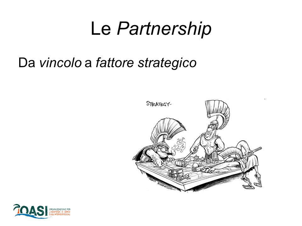 Le Partnership Da vincolo a fattore strategico