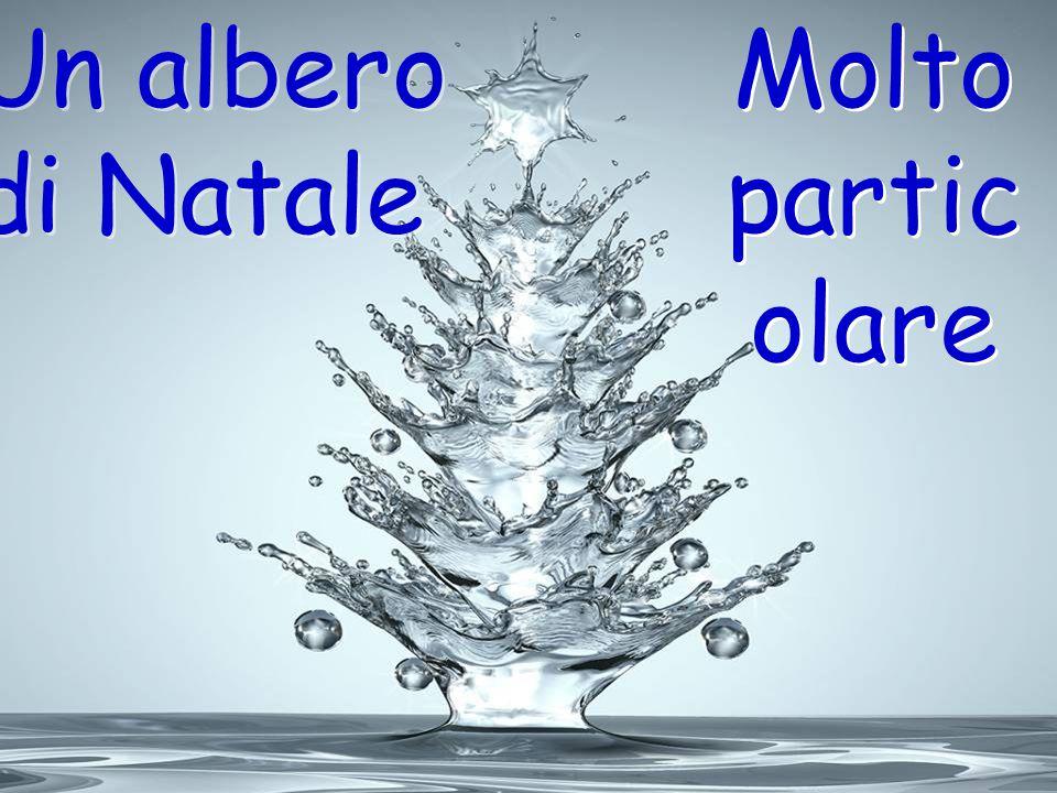 Un albero di Natale Molto particolare