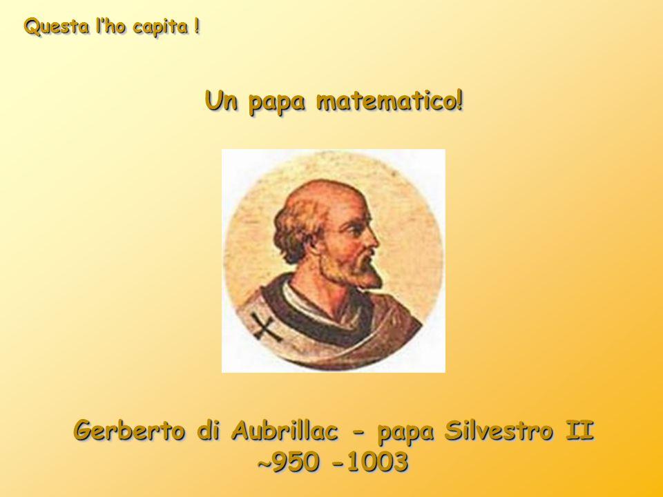 Gerberto di Aubrillac - papa Silvestro II