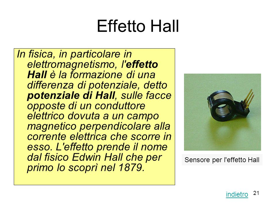 Effetto Hall