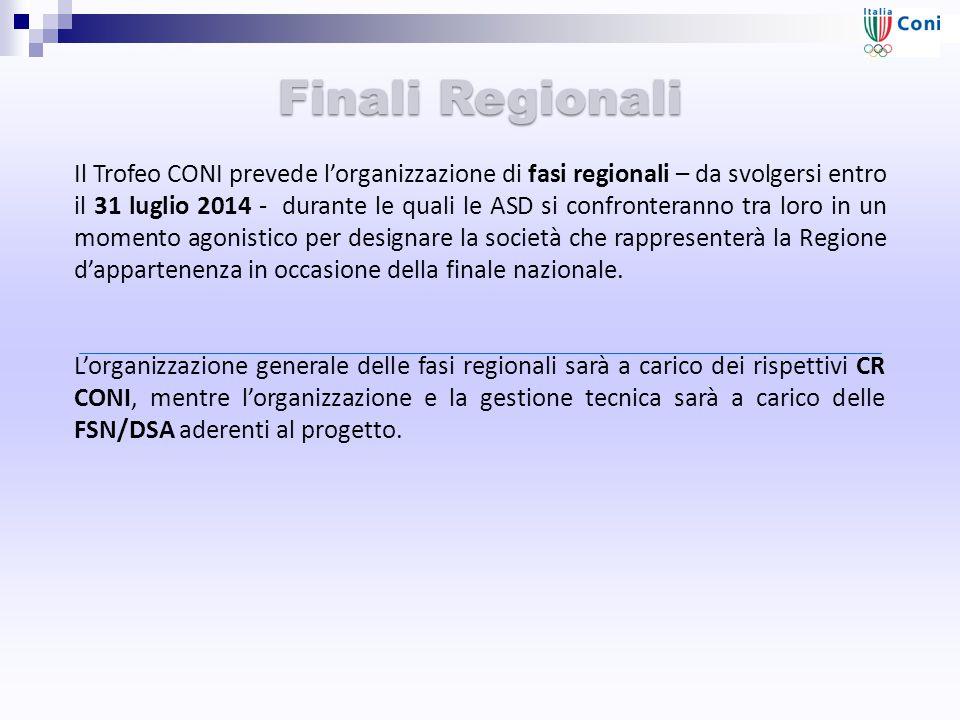 Finali Regionali