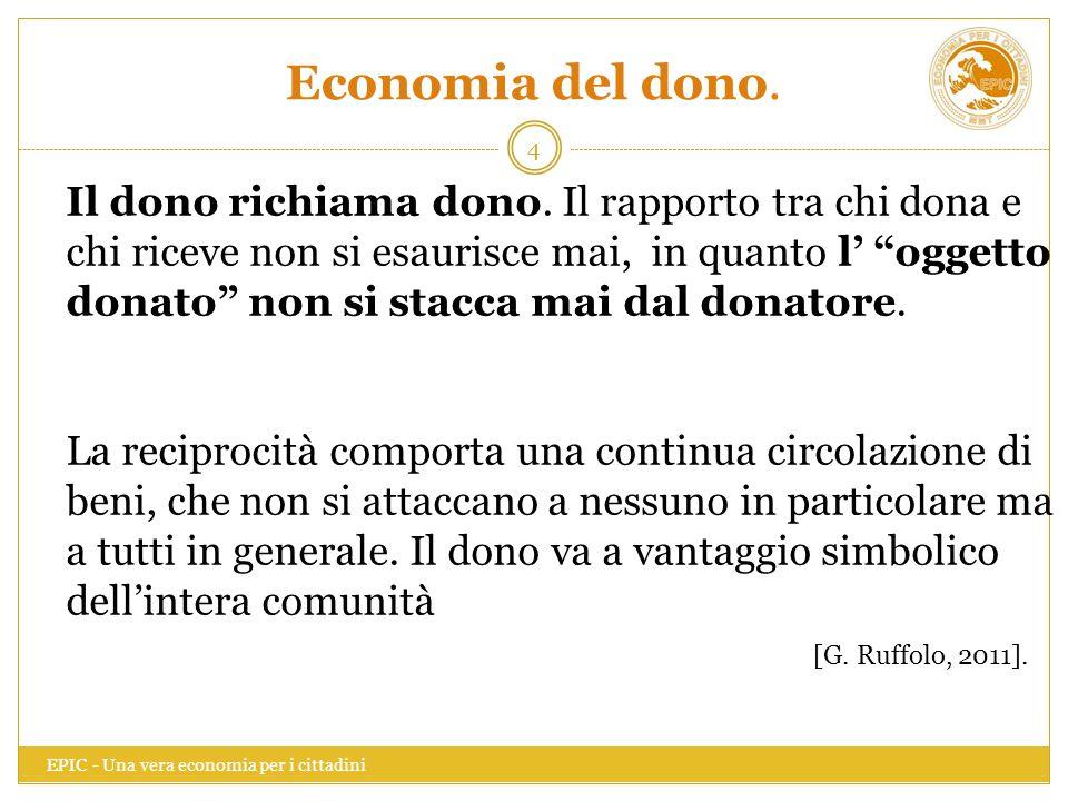 Economia del dono.