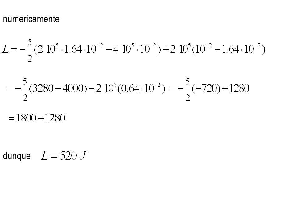 numericamente dunque