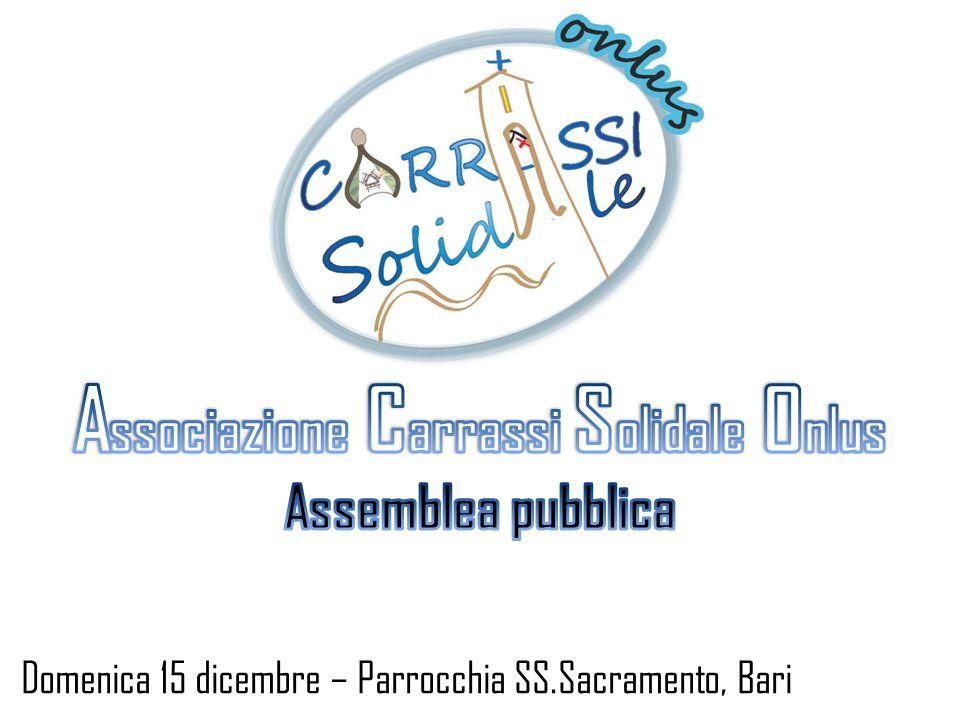 Associazione Carrassi Solidale Onlus