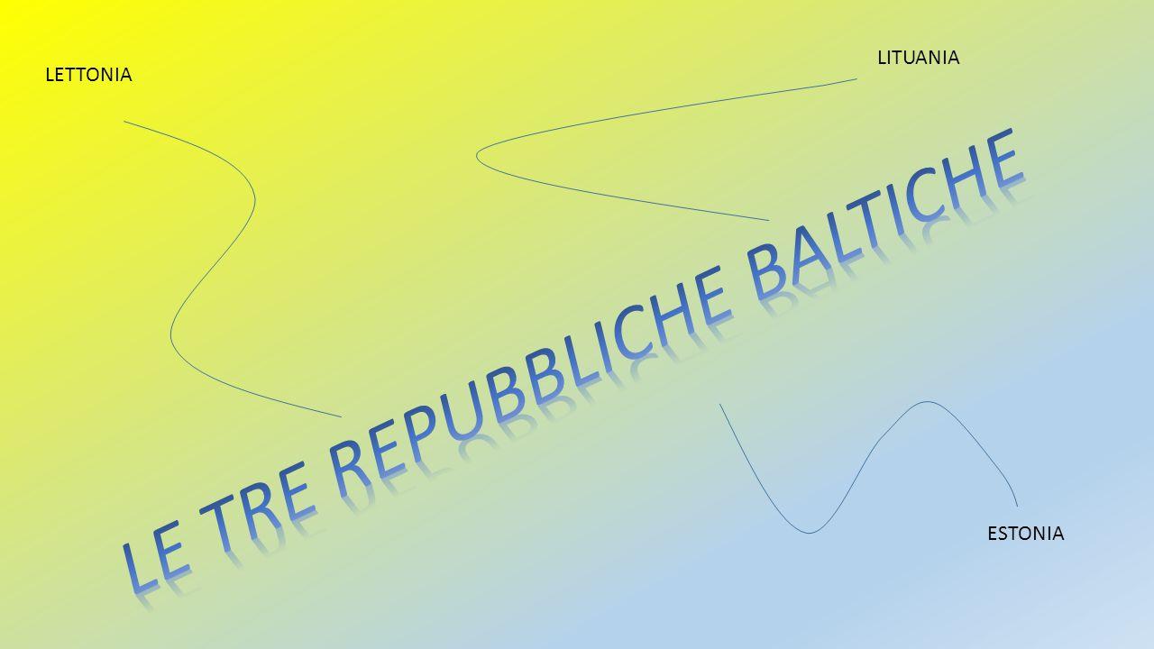 LE TRE REPUBBLICHE BALTICHE