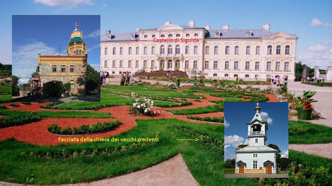 <----- Castello di Sigulda