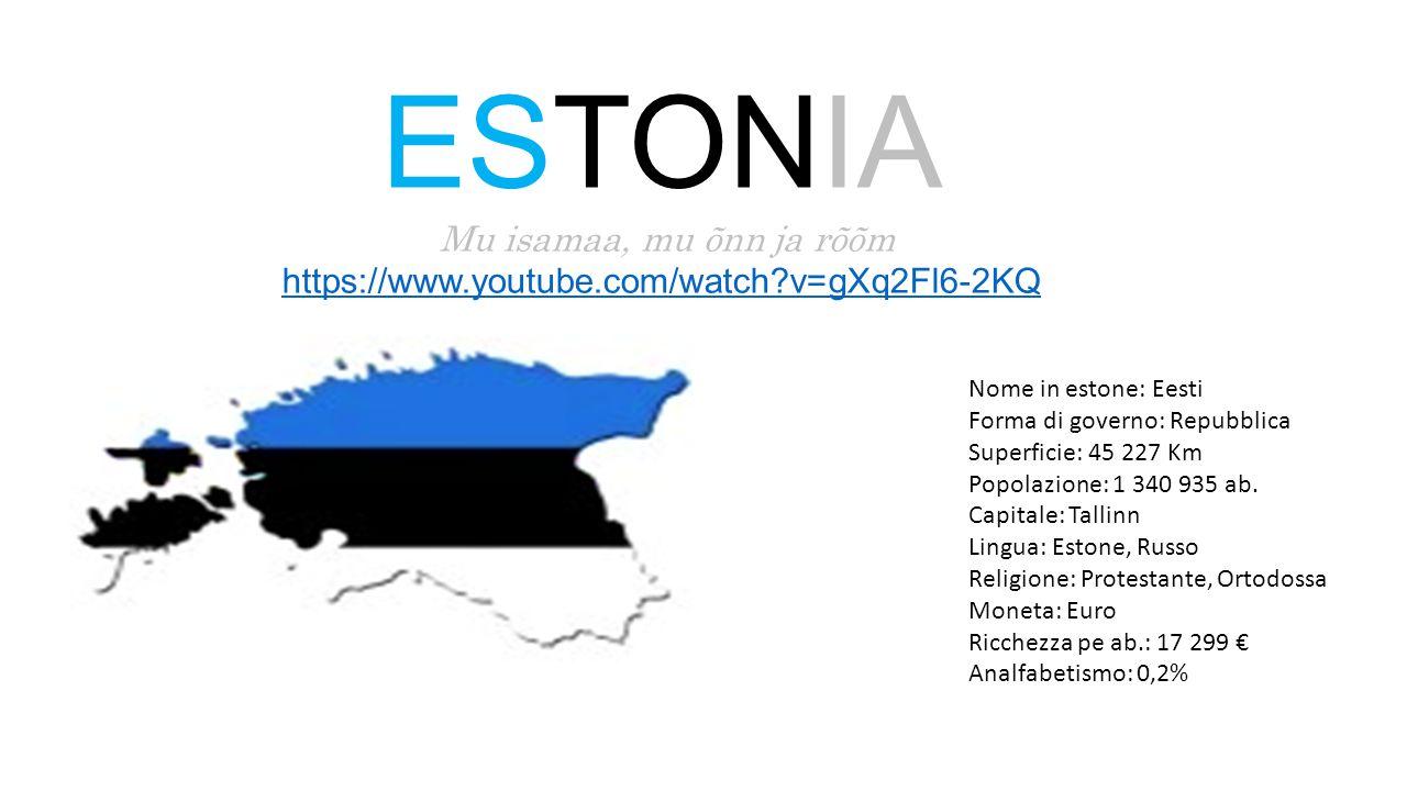 ESTONIA Mu isamaa, mu õnn ja rõõm