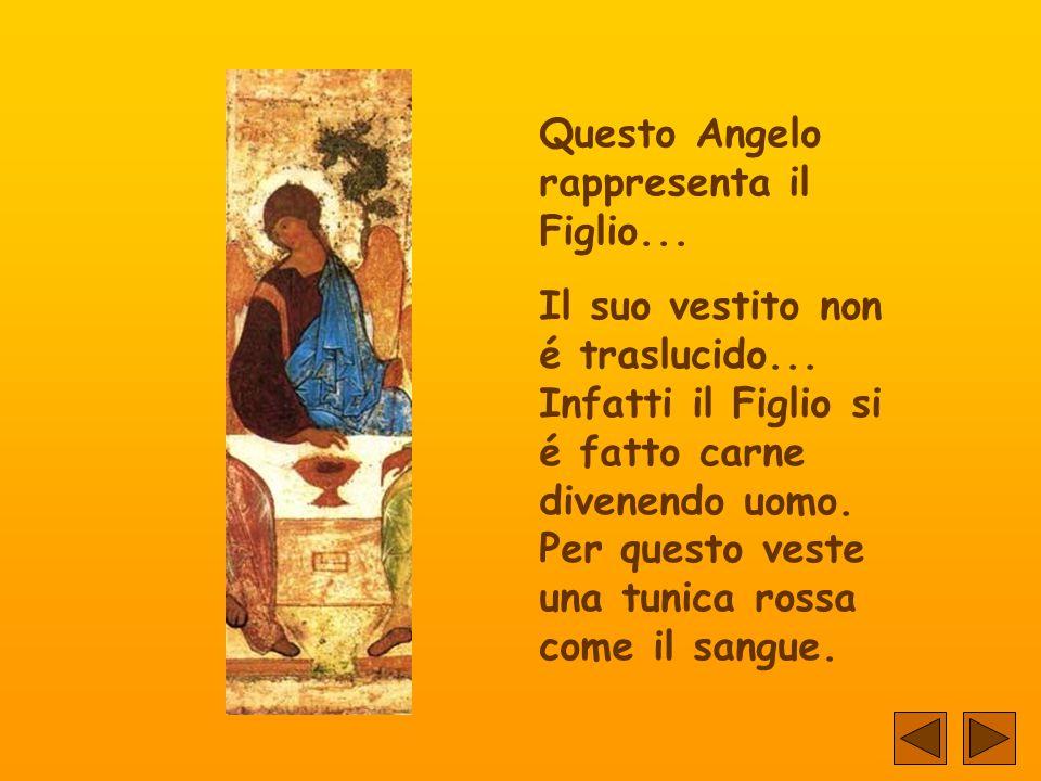 Questo Angelo rappresenta il Figlio...