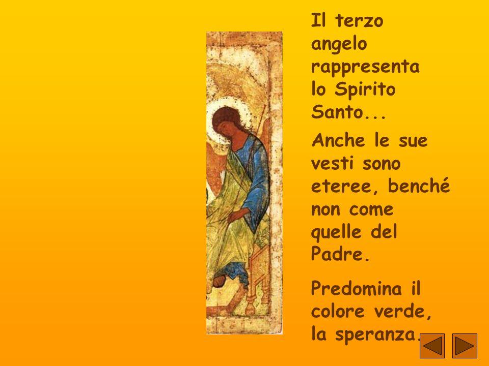 Il terzo angelo rappresenta lo Spirito Santo...
