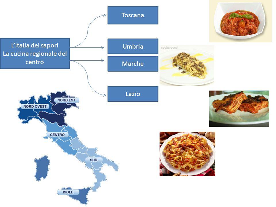 La cucina regionale del centro