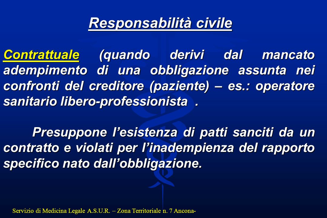Responsabilità civile
