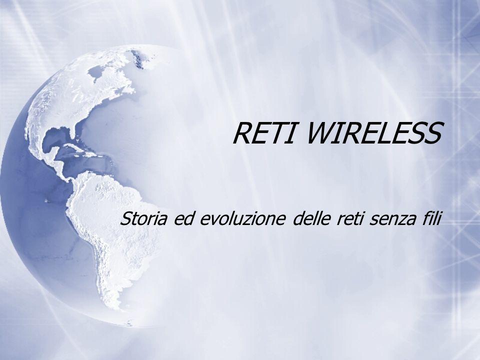 Storia ed evoluzione delle reti senza fili
