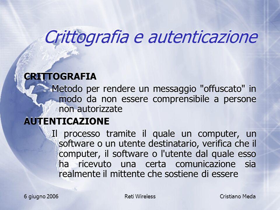 Crittografia e autenticazione