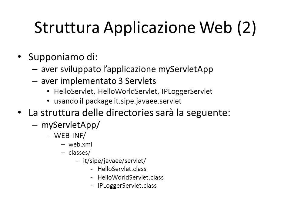 Struttura Applicazione Web (2)