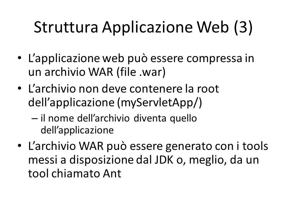 Struttura Applicazione Web (3)