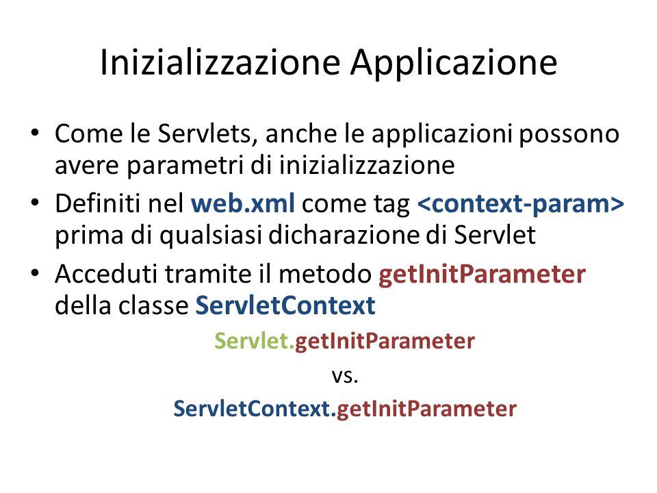 Inizializzazione Applicazione