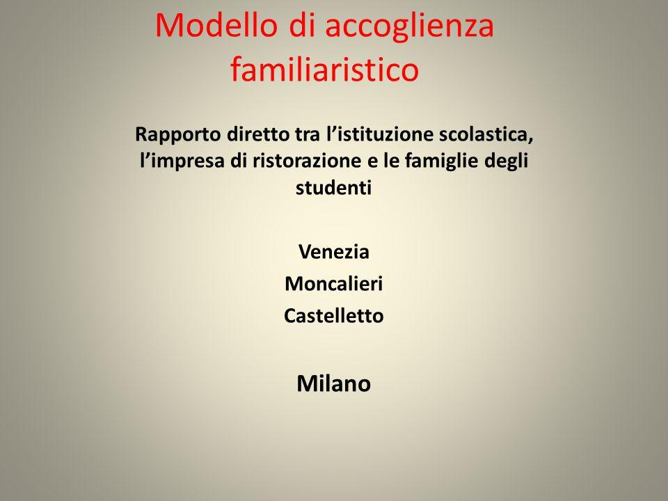 Modello di accoglienza familiaristico
