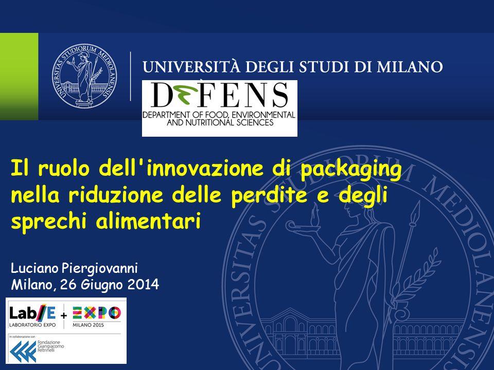 Il ruolo dell innovazione di packaging nella riduzione delle perdite e degli sprechi alimentari