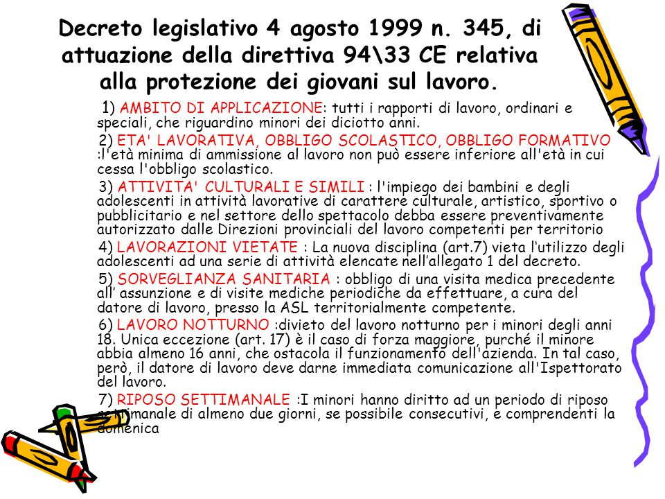 Decreto legislativo 4 agosto 1999 n