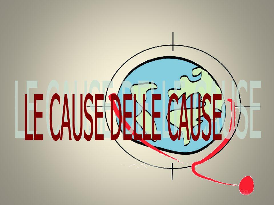 LE CAUSE DELLE CAUSE