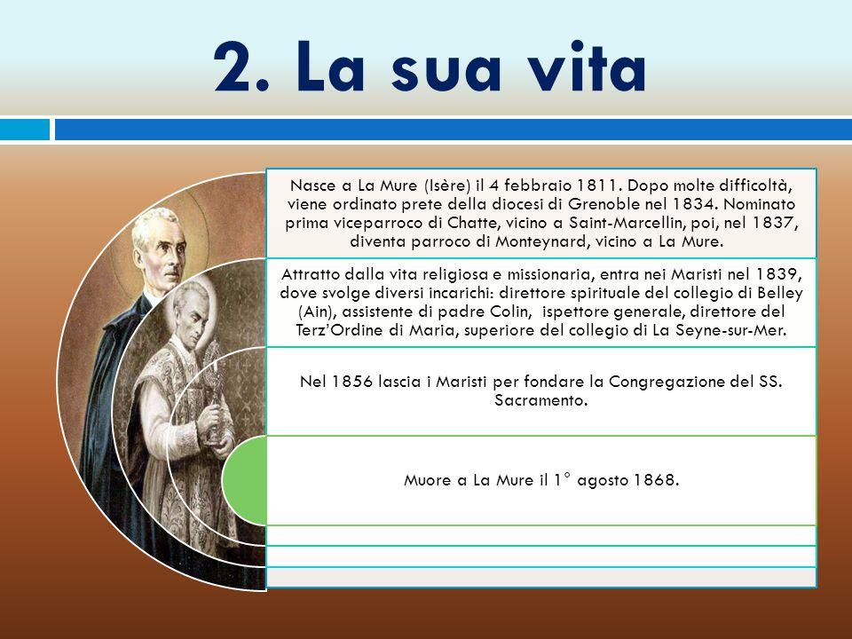 Muore a La Mure il 1° agosto 1868.