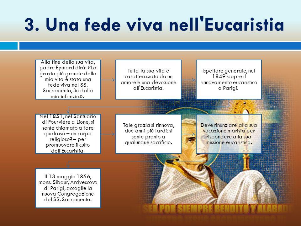3. Una fede viva nell Eucaristia