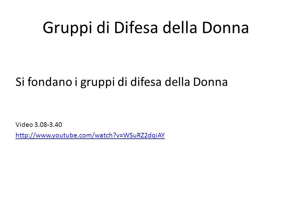 Gruppi di Difesa della Donna