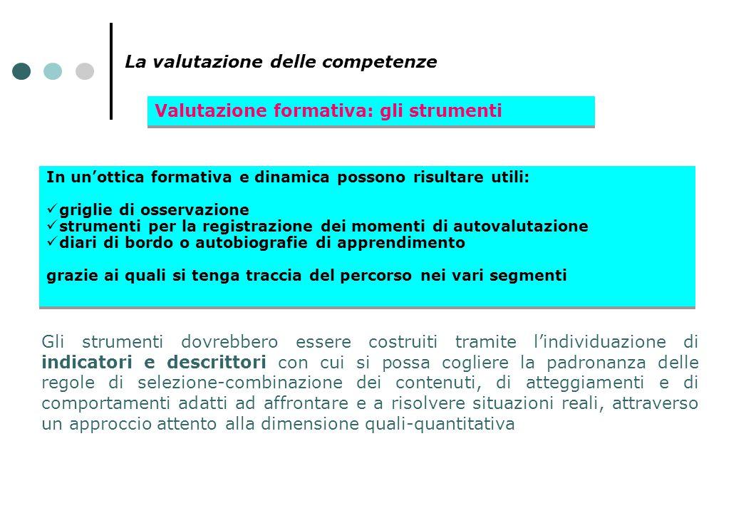 La valutazione delle competenze