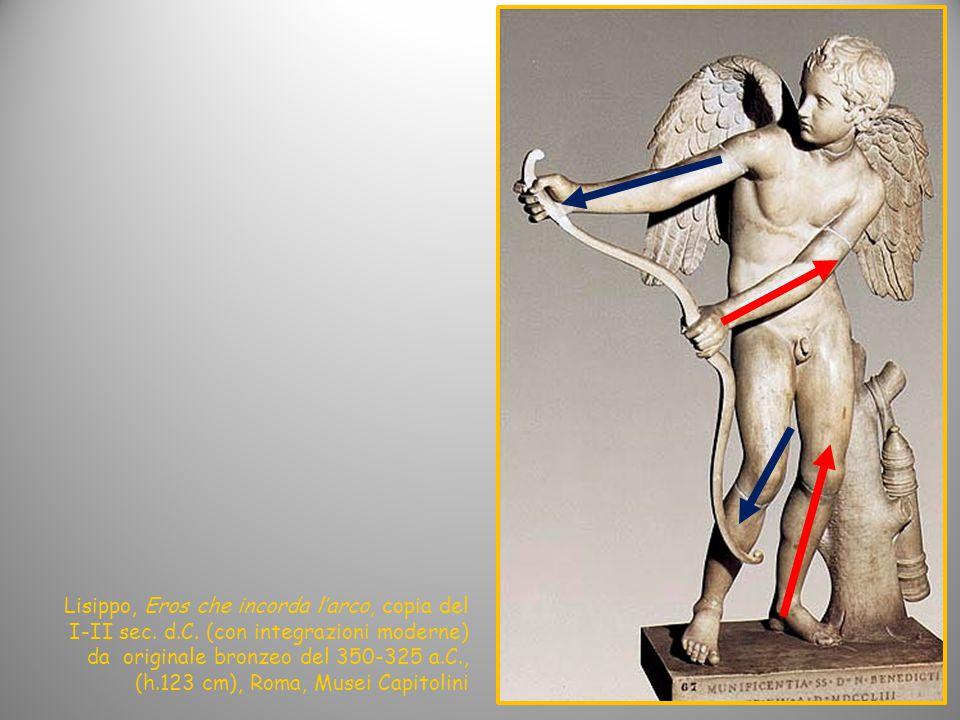 Lisippo, Eros che incorda l'arco, copia del I-II sec. d. C